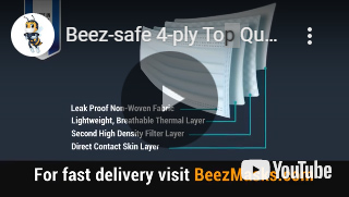 BEEZ SAFE masks video